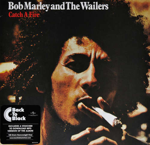 Cover Bob Marley And The Wailers* - Catch A Fire (LP, Album, RE, RM, 180) Schallplatten Ankauf