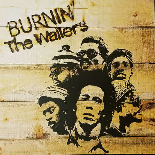 Cover Bob Marley & The Wailers - Burnin' (LP, Album, RE, RM, Gat) Schallplatten Ankauf