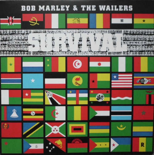 Cover Bob Marley & The Wailers - Survival (LP, Album, RE, RM, 180) Schallplatten Ankauf