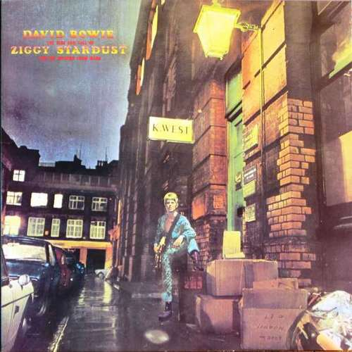 Cover David Bowie - The Rise And Fall Of Ziggy Stardust And The Spiders From Mars (LP, Album, RE, Gat) Schallplatten Ankauf