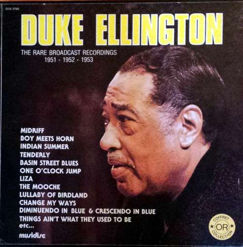 Bild Duke Ellington - The Rare Broadcast Recordings 1951 - 1952 - 1953 (3xLP, Box) Schallplatten Ankauf