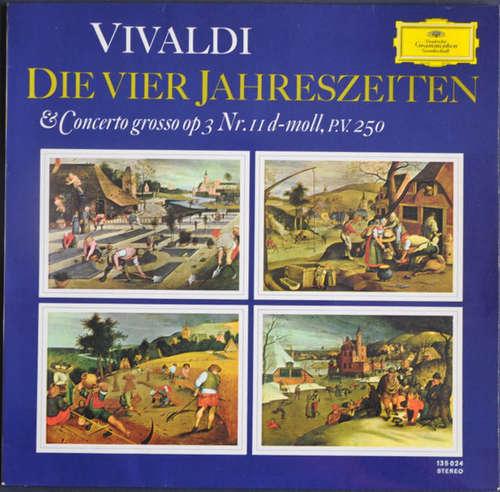 Bild Vivaldi* - Die Vier Jahreszeiten & Concerto Grosso Op. 3 No. 11 D-Moll, P.V. 250 (LP) Schallplatten Ankauf