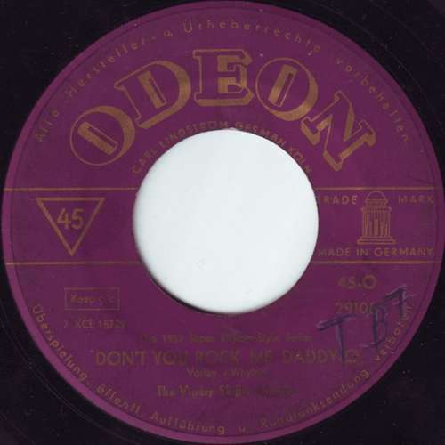 Bild The Vipers Skiffle Group - Don't You Rock Me Daddy-O (7, Single) Schallplatten Ankauf