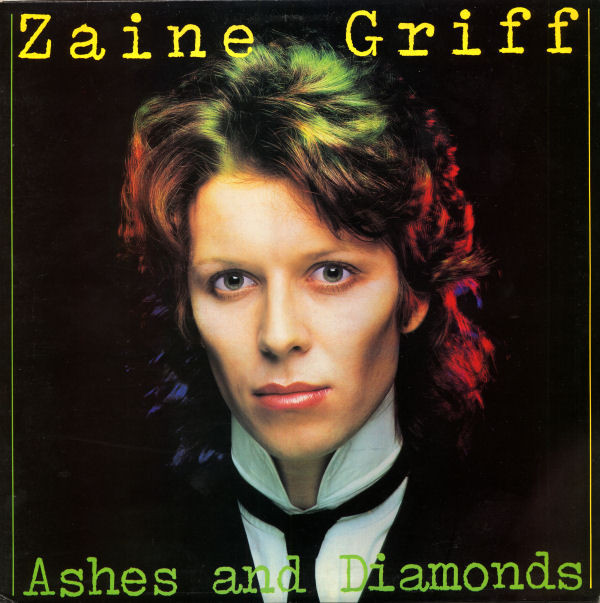 Cover zu Zaine Griff - Ashes And Diamonds (LP) Schallplatten Ankauf