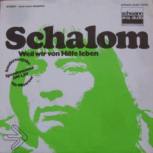 Bild Jutta Hahn, Chor Der Neanderkirche Düsseldorf - Schalom (7, Single) Schallplatten Ankauf