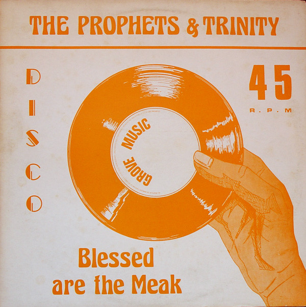 Cover The Prophets & Trinity (4) / Tommy McCook - Blessed Are The Meak / Stepping High (12) Schallplatten Ankauf