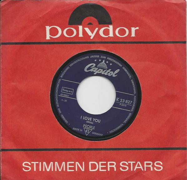 Bild People (4) - I Love You / Somebody Tell Me My Name (7, Single) Schallplatten Ankauf