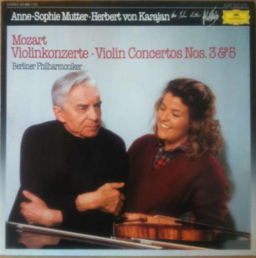 Bild Mozart* - Berliner Philharmoniker, Herbert Von Karajan, Anne-Sophie Mutter - Violinkonzerte / Violin Concertos Nos. 3 & 5 (LP, Album) Schallplatten Ankauf
