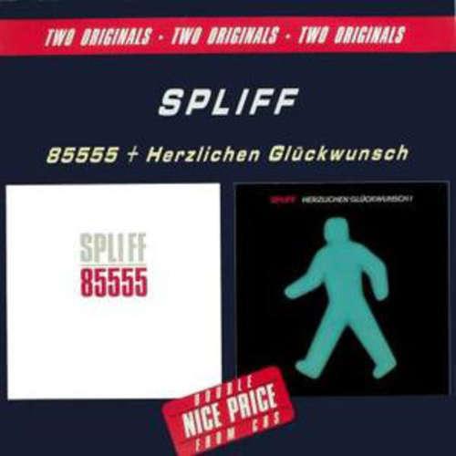 Cover zu Spliff - 85555 / Herzlichen Glückwunsch (2xCD, Comp) Schallplatten Ankauf
