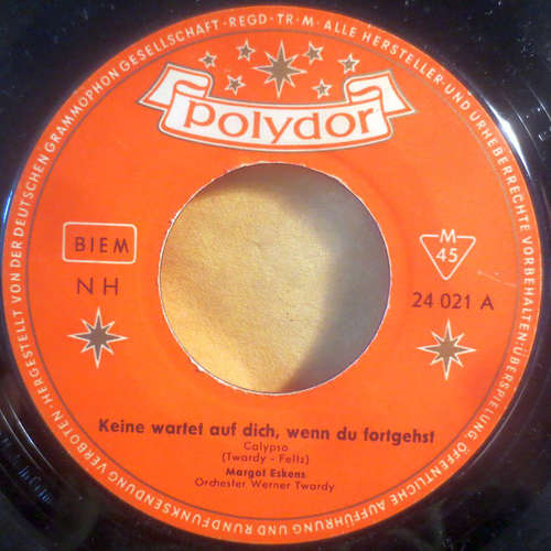 Bild Margot Eskens - Keine Wartet Auf Dich, Wenn Du Fortgehst (7, Single, Mono) Schallplatten Ankauf