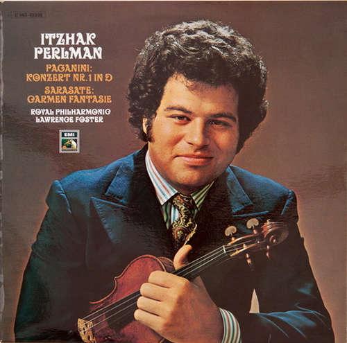 Bild Paganini*, De Sarasate*, Perlman*, Royal Philharmonic*, Lawrence Foster - Konzert Nr. 1 In D / Carmen Fantasie (LP) Schallplatten Ankauf