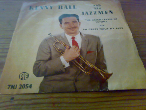Bild Kenny Ball And His Jazzmen - The Green Leaves Of Summer (7, Single, Pus) Schallplatten Ankauf