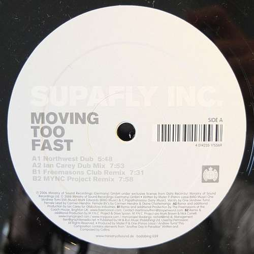 Bild Supafly Inc* - Moving Too Fast (12) Schallplatten Ankauf