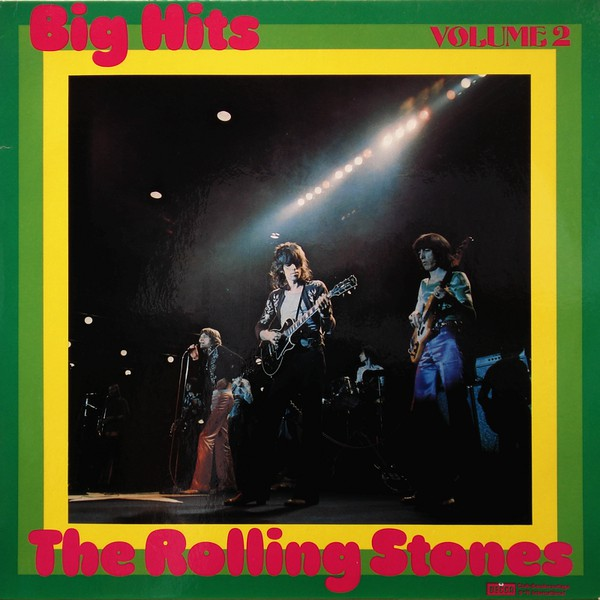 Cover zu The Rolling Stones - Big Hits Volume 2 (LP, Comp, Club, RE) Schallplatten Ankauf