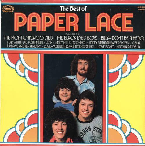 Cover Paper Lace - The Best Of Paper Lace (LP, Comp, Blu) Schallplatten Ankauf
