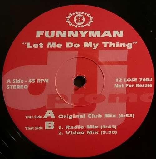 Bild Funnyman - Let Me Do My Thing (12, Promo) Schallplatten Ankauf