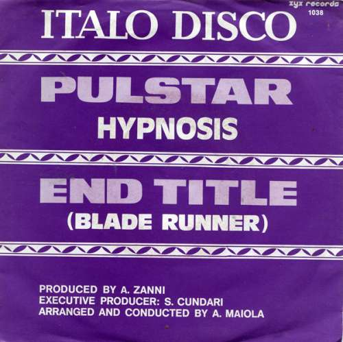 Cover Hypnosis* - Pulstar / End Title (Blade Runner) (7, Single) Schallplatten Ankauf