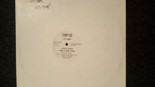 Cover Tommy Gee - It's Time (12, Promo) Schallplatten Ankauf