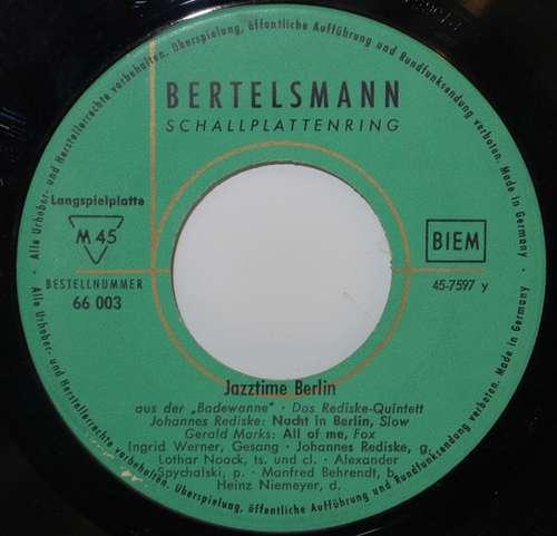 Cover Das Johannes-Rediske Quintett* - Jazztime Berlin (7, EP, Gre) Schallplatten Ankauf