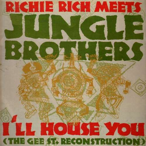 Cover Richie Rich Meets Jungle Brothers - I'll House You (12) Schallplatten Ankauf