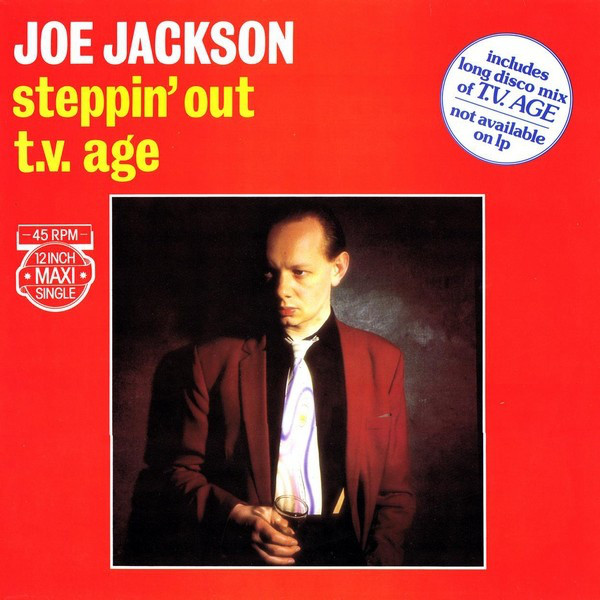 Cover Joe Jackson - Steppin' Out / T.V. Age (12, Maxi, Dif) Schallplatten Ankauf