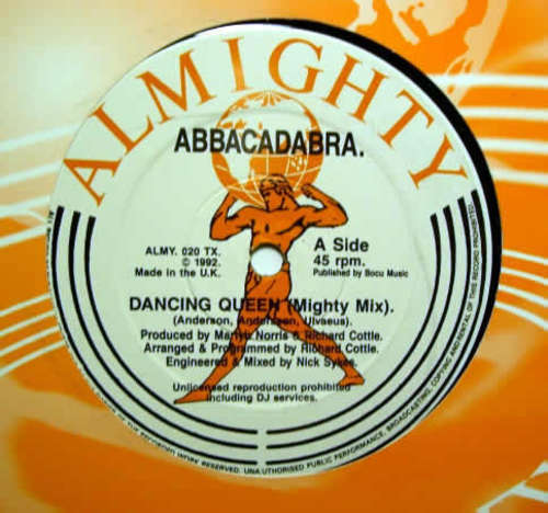 Cover Abbacadabra - Dancing Queen (Remix) (12) Schallplatten Ankauf