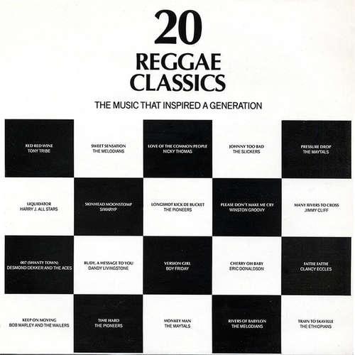 Cover Various - 20 Reggae Classics (LP, Comp) Schallplatten Ankauf