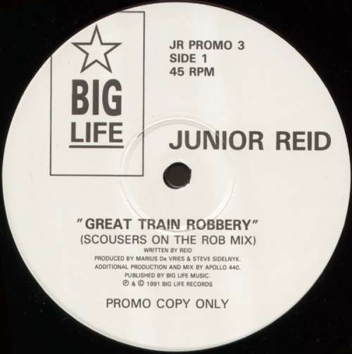 Bild Junior Reid - Great Train Robbery (12, Promo) Schallplatten Ankauf