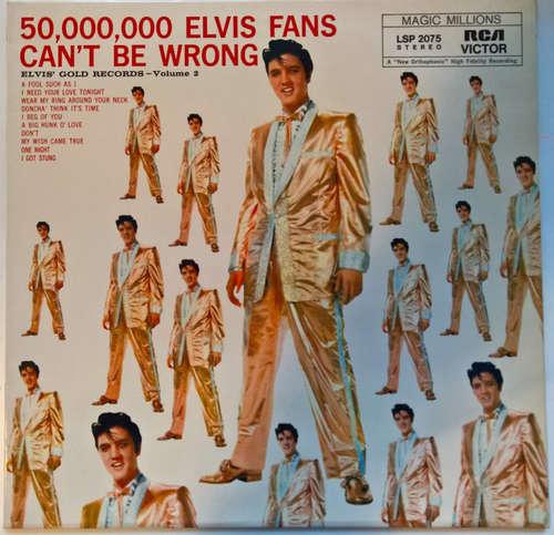 Cover Elvis Presley - 50,000,000 Elvis Fans Can't Be Wrong (Elvis' Gold Records, Vol. 2) (LP, Comp, RE) Schallplatten Ankauf