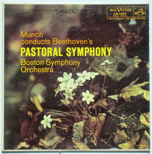 Bild Munch* Conducts Beethoven*, Boston Symphony Orchestra - Pastoral Symphony (LP) Schallplatten Ankauf