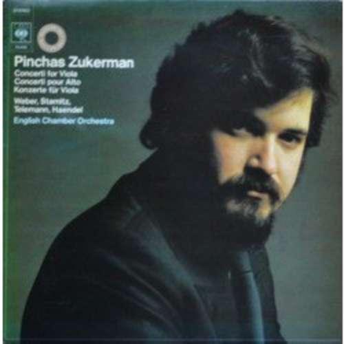 Cover zu Pinchas Zukerman, English Chamber Orchestra - Concerti For Viola = Concerti Pour Alto = Konzerte Für Viola (LP) Schallplatten Ankauf
