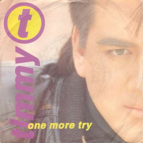 Cover Timmy T - One More Try (7, Single) Schallplatten Ankauf