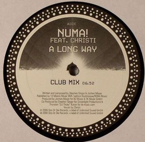 Cover zu Numa! Feat. Christi - A Long Way (12) Schallplatten Ankauf
