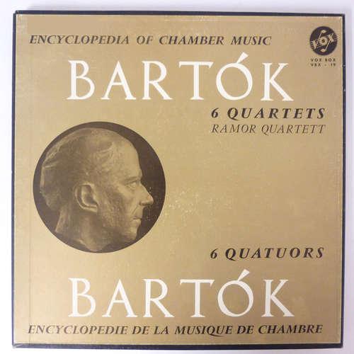 Bild Béla Bartók - 6 Quartets (3xLP, Mono + Box) Schallplatten Ankauf