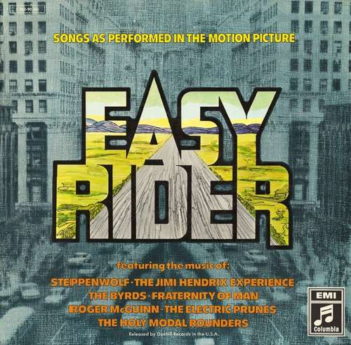 Cover zu Various - Easy Rider (Songs As Performed In The Motion Picture) (LP, Comp) Schallplatten Ankauf