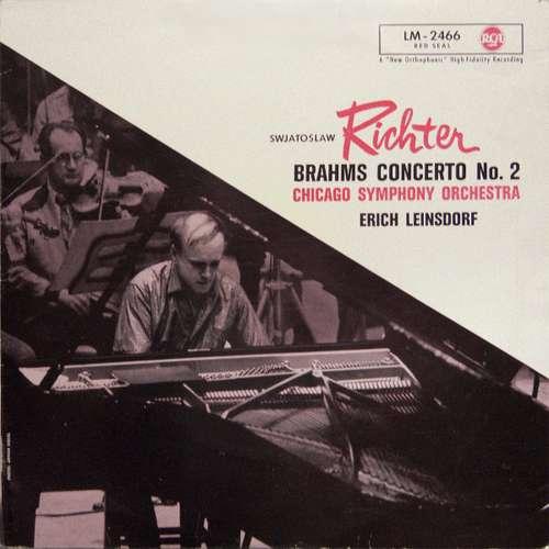 Bild Sviatoslav Richter, Brahms*, Chicago Symphony Orchestra*, Erich Leinsdorf - Brahms Concerto No. 2 (LP, Mono) Schallplatten Ankauf