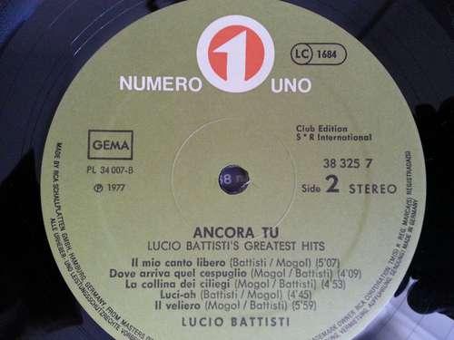 Bild Lucio Battisti - Ancora Tu Greatest Hits (LP, Comp) Schallplatten Ankauf