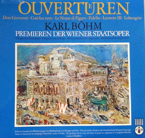 Bild Karl Böhm - Ouvertüren / Premieren Der Wiener Staatsoper (LP, Comp, Mono, RE) Schallplatten Ankauf