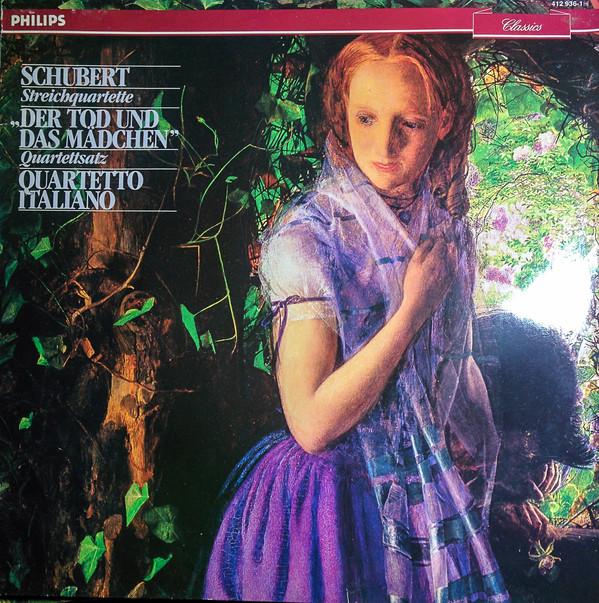 Bild Schubert*, Quartetto Italiano - Streichquartette Der Tod Und Das Mädchen / Quartettsatz (LP, RE) Schallplatten Ankauf