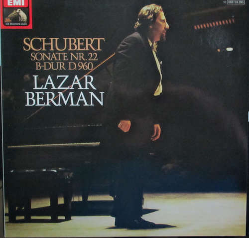 Bild Lazar Berman, Franz Schubert - Schubert Sonata In B Flat D. 960 (LP) Schallplatten Ankauf