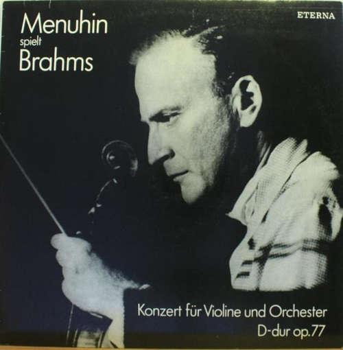 Cover zu Menuhin*, Brahms* - Menuhin Spielt Brahms (Konzert Für Violine Und Orchester D-dur Op.77) (LP, RE, RP) Schallplatten Ankauf