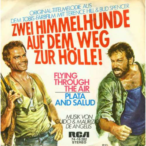 Cover Guido & Maurizio De Angelis* - Flying Through The Air / Plata And Salud (7, Single) Schallplatten Ankauf