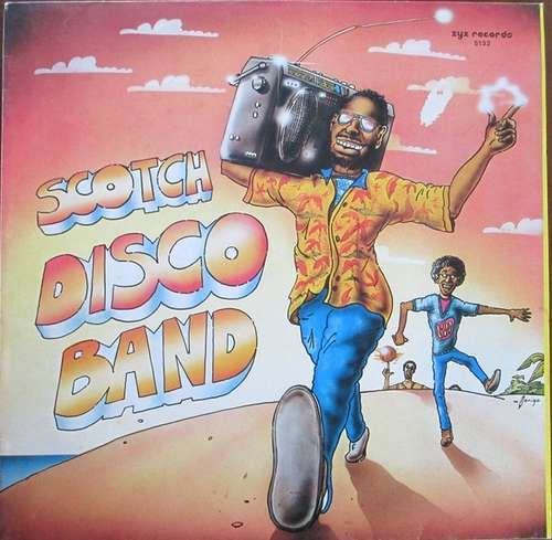 Cover Scotch - Disco Band (12) Schallplatten Ankauf
