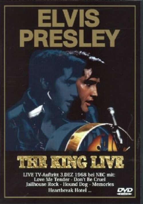 Cover Elvis Presley - The King live (DVD-V, Album) Schallplatten Ankauf