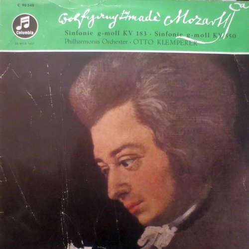Cover Wolfgang Amadeus Mozart - Otto Klemperer, Philharmonia Orchestra - Sinfonie G-Moll KV 183 • Sinfonie G-Moll KV 550 (LP) Schallplatten Ankauf