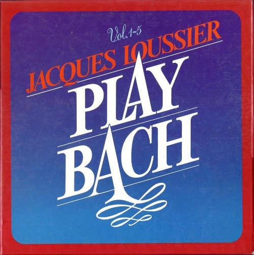 Cover Jacques Loussier - Play Bach (5xLP, Comp, RE + Box) Schallplatten Ankauf