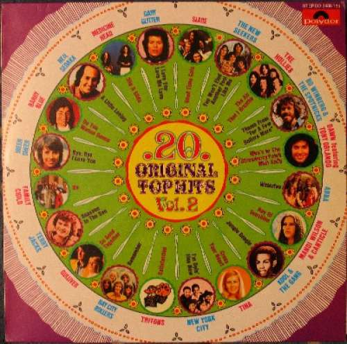 Cover zu Various - 20 Original Top Hits Vol. 2 (LP, Comp) Schallplatten Ankauf