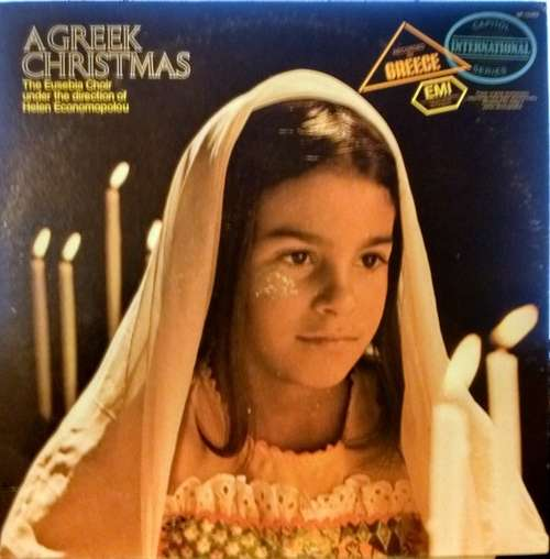 Cover zu The Eusebia Choir Under The Direction Of Helen Economopolou - A Greek Christmas (LP, Album) Schallplatten Ankauf