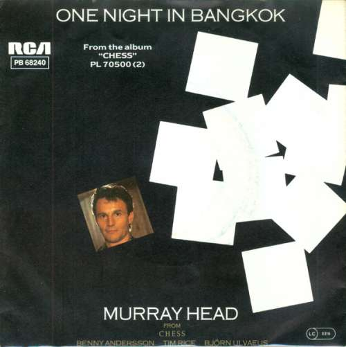 Cover Murray Head - One Night In Bangkok (7, Single) Schallplatten Ankauf