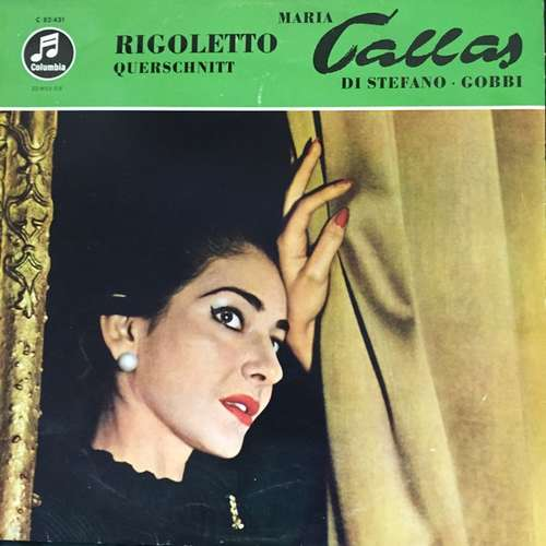 Bild Verdi*, Callas*, di Stefano*, Gobbi*, Serafin*, Coro* E Orchestra Del Teatro Alla Scala Di Milano* - Rigoletto (Großer Querschnitt In Italienischer Sprache) (LP) Schallplatten Ankauf